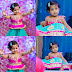 Adorable Kid Pink Blue Lehenga