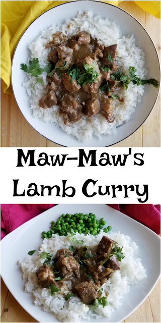 This simple curry was created by my Maw-Maw and is full of memories for my mom. I think you will agree that it is a hearty and flavorful meal!