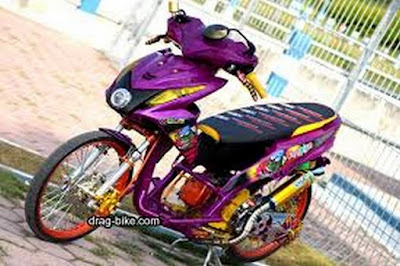 Modifikasi Beat FI 2015 Thailook style