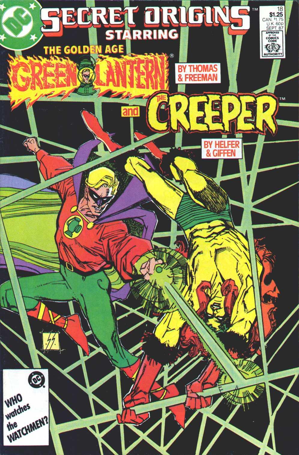 Read online Secret Origins (1986) comic -  Issue #18 - 1