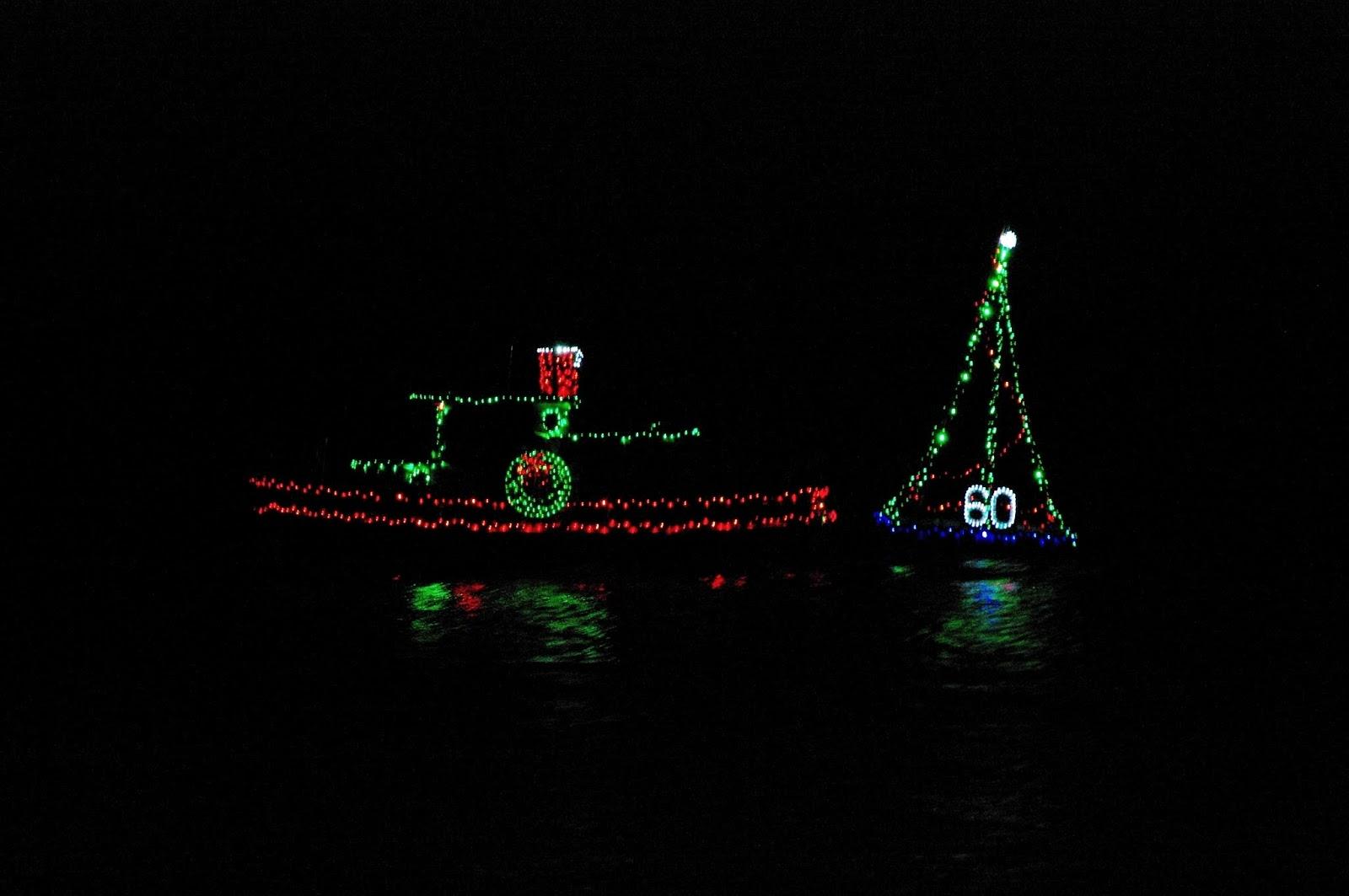 Kraken Christmas Ship