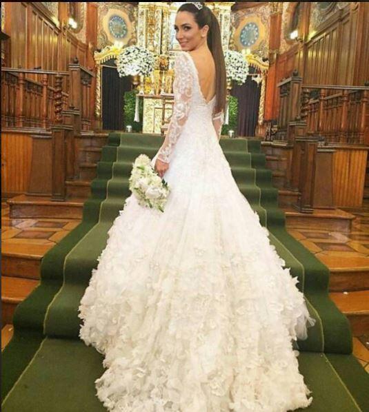 Vestido noiva Lala Noleto