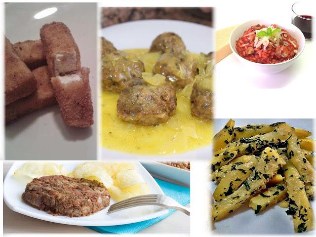 Recetas vegetarianas de domingo