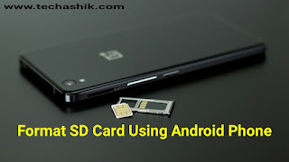 How To Format Your Memory or SD Card in Android Phone