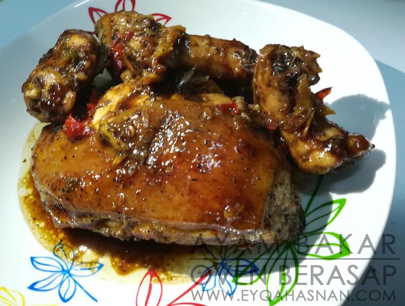 Resepi Ayam Bakar Oven Berasap