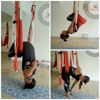 aeroyoga, yoga, pilates, fitness, mujer, woman, women, empoderamiento, empoderar, femenino, diosa, aerial, air, aereo, aerea, columpio