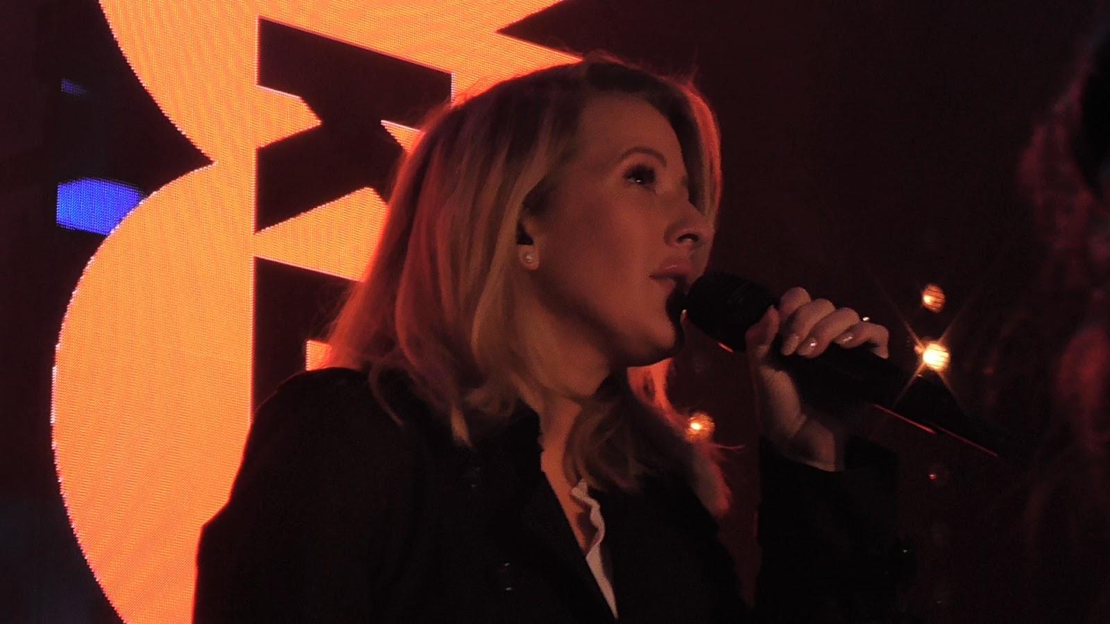 Ellie Goulding Key 103 concert Manchester Cathedral