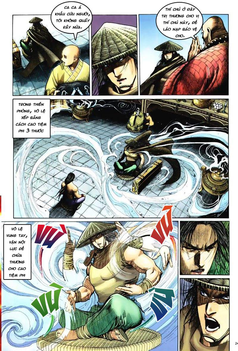 Anh hùng vô lệ Chap 6: Anh hùng hữu lệ trang 24