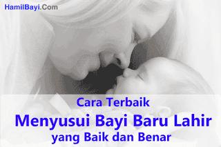 Cara Menyusui Bayi Baru Lahir yang Baik dan Benar