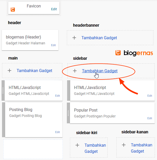 Cara Memasang Iklan Adsense pada Sidebar Blog