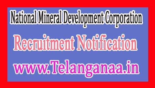 National Mineral Development CorporationNMDC Recruitment