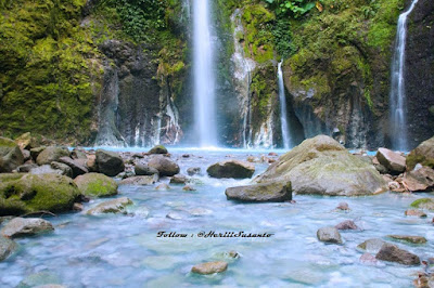 Two Colors Waterfall, North Sumatera2