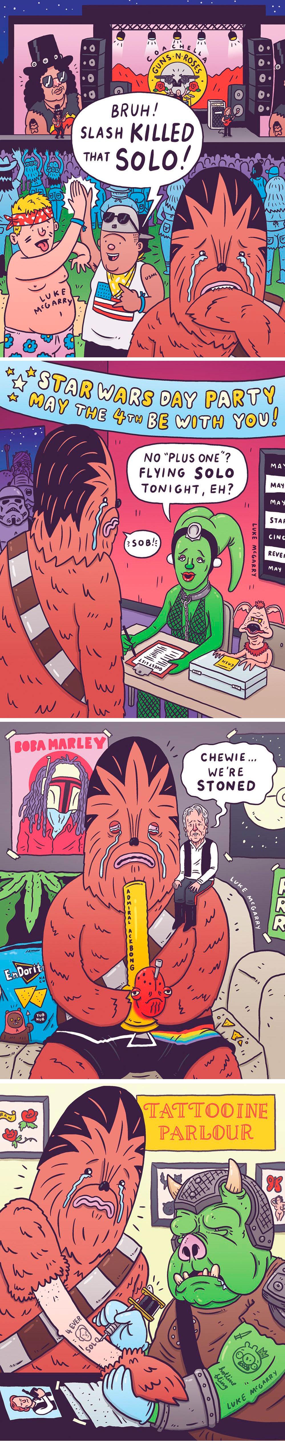 Sad Chewie