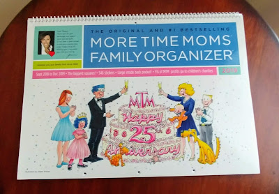 More Time Moms Family Organizer