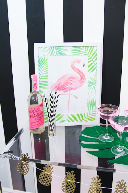 Summer Pink Flamingo Cocktail Party by popular Florida party blogger The Celebration Stylist