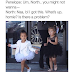 PHOTO: Funny Convo depiction of North West & cousin Penelope Disick