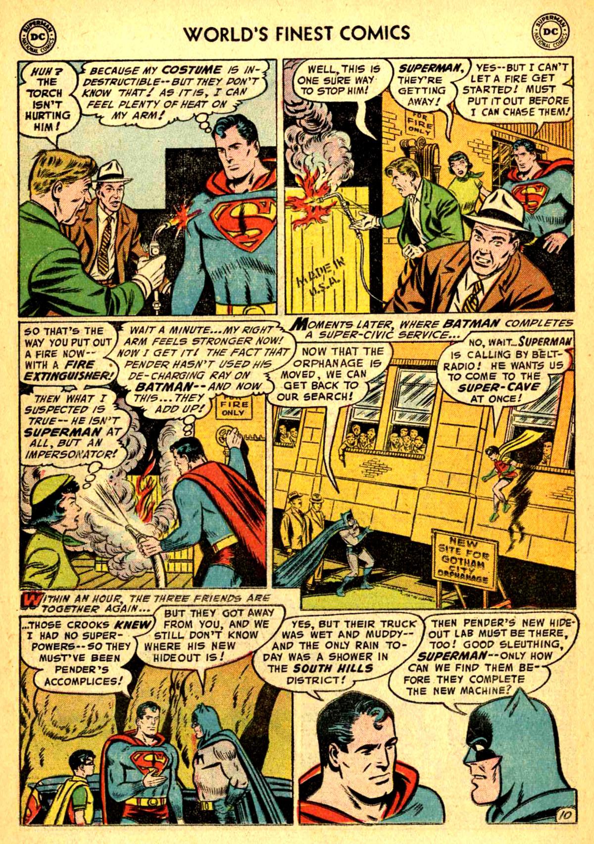Read online World's Finest Comics comic -  Issue #77 - 12