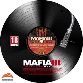 Mafia III Deluxe Edition Disc Label 2