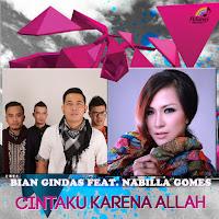 Lirik Lagu BIANgindas Cintaku Karena Allah (Feat Nabilla Gomes)