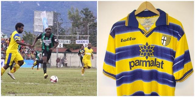 Sepakbola Papua : Belang Jersey Hingga Prestasi, yahukimo fc, ac parma