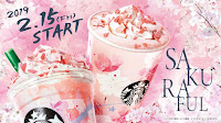 Starbucks Japan Cherry Blossom Drinks 2019
