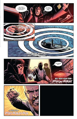 """James Bond: Origin núm.8"" de Jeff Parker e Ibrahim Moustafa."