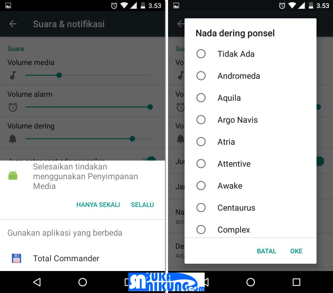 Cara Mengganti Nada Dering dan Notifikasi Pada Ponsel Android - Tips trik Android, aplikasi, software grafis, disain, Islami dan segala sesuatu tentang Android
