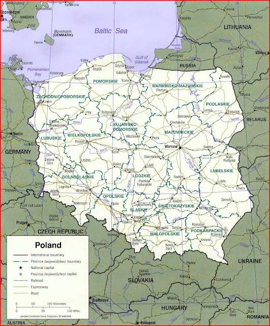 image: Poland Political Map