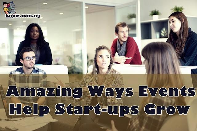 5 Amazing  Ways Events Help Start-ups Grow