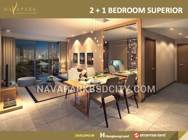 Marigold NavaPark 2+1 BR Suite