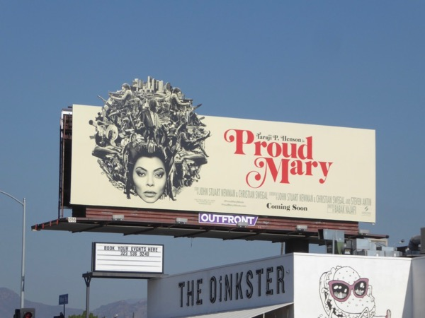 Proud Mary cut-out extension billboard