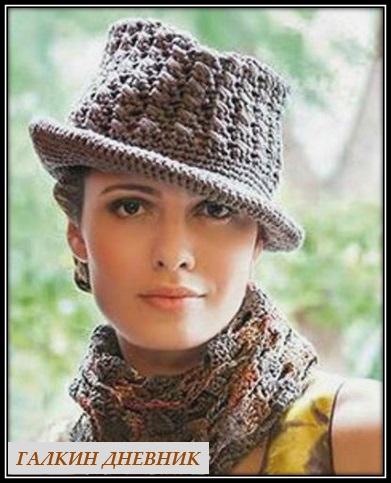shlyapka-kryuchkom-na-osen | strikking | بافندگی | dzianie | tricô | tricotare | การถัก