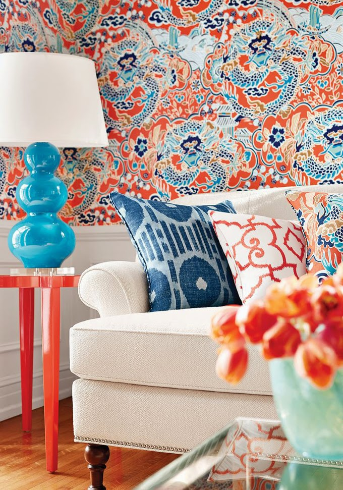 10 Rooms With Incredibly Bold Wallpaper  Design Fixation