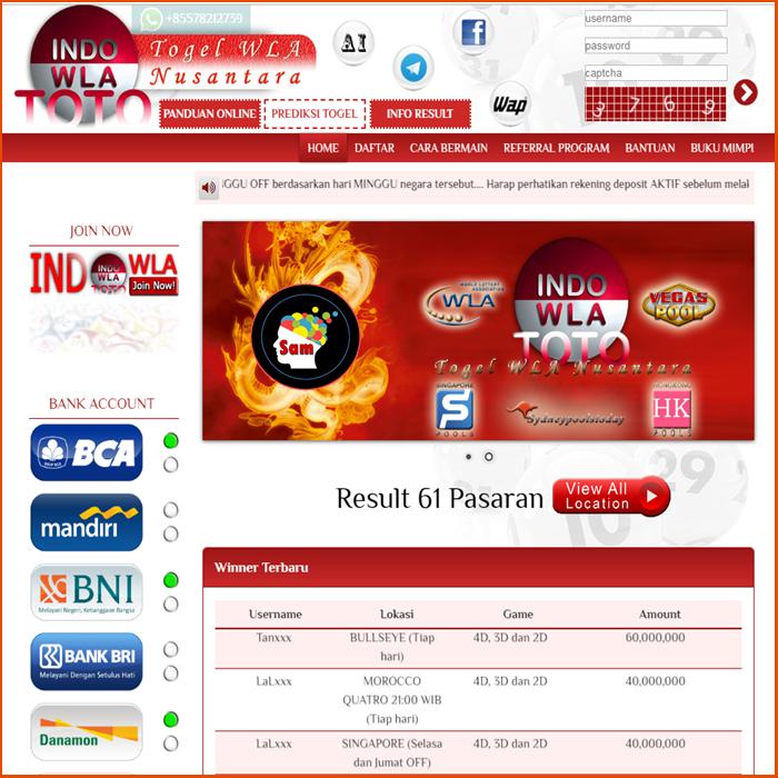 Bandar Togel Online INDOWLATOTO