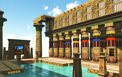 Cleopatra's Temple Escape