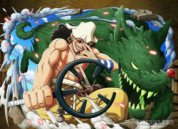 Thánh Usopp bộc phát haki quan sát cứu Luffy và Law khỏi Sugar