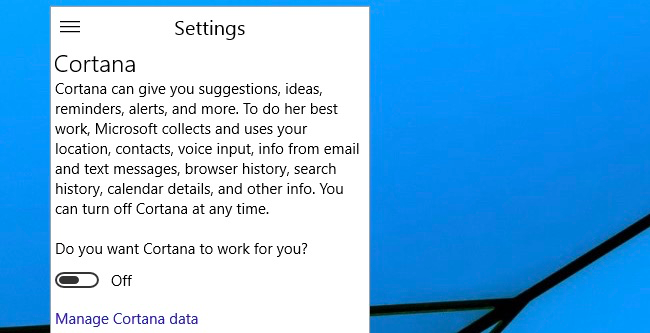 How to Hide the Cortana Search Box on the Windows 10 Taskbar