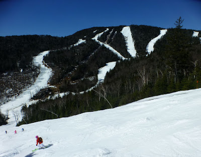 Heading for the summit. Gore Mountain, Saturday 03/12/2016.  The Saratoga Skier and Hiker, first-hand accounts of adventures in the Adirondacks and beyond, and Gore Mountain ski blog.