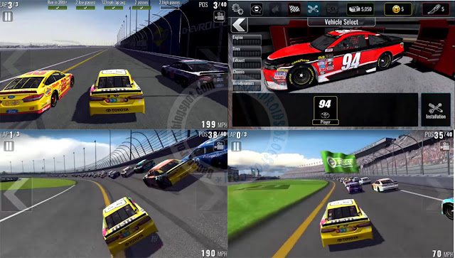 Nascar Heat mobile Apk Data Full Android + Mod
