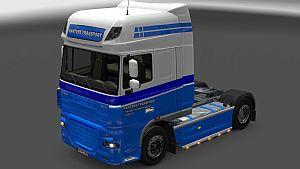 Kanters Transport skin for DAF XF