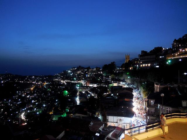 Shimla all lit up