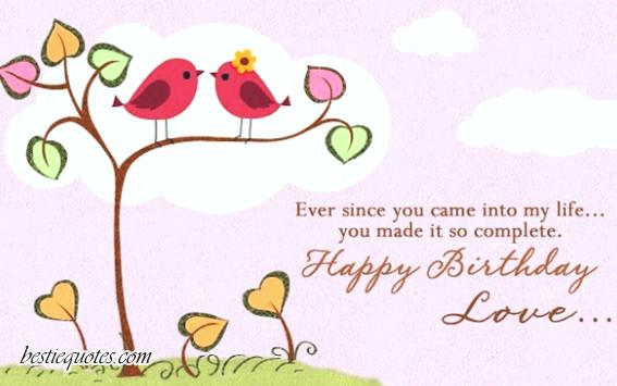 Happy birthday message for boyfriend long distance
