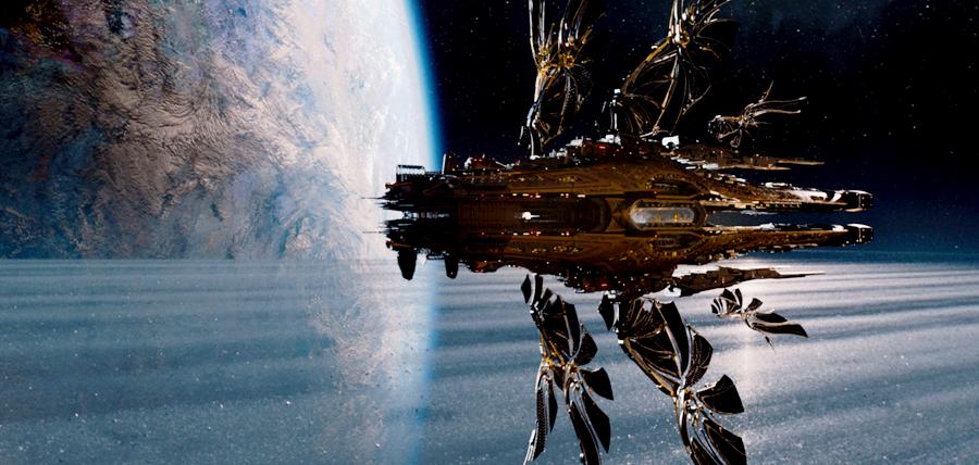 Nave sofisticate şi călătorii interstelare în filmul sci-fi Jupiter Ascending