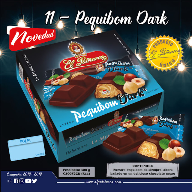 Pequibom Dark El Patriarca 300 g - Comercial H. Martín sa
