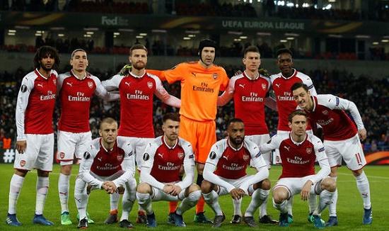Các cầu thủ Arsenal hầu hết là chuyển nhượng