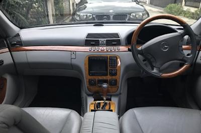 Interior Mercy W220 Facelift
