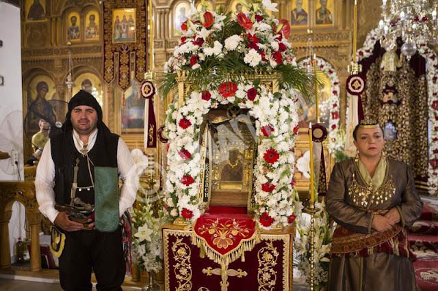 Η Εικόνα της Παναγίας Σουμελά και τα Ιερά Κειμήλια στον Πειραιά