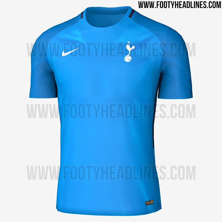 c02220ae5 Nike Tottenham 17-18 Vapor Aeroswift Training Jersey Leaked - Footy ...