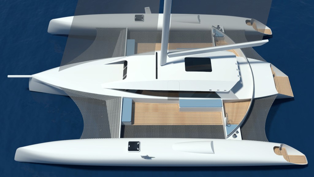 Trimaran Projects And Multihull News Tracer 1500TRi