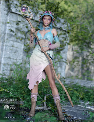Woodland Magic for Genesis 3 Female(s)